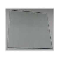 Cube display glass panel