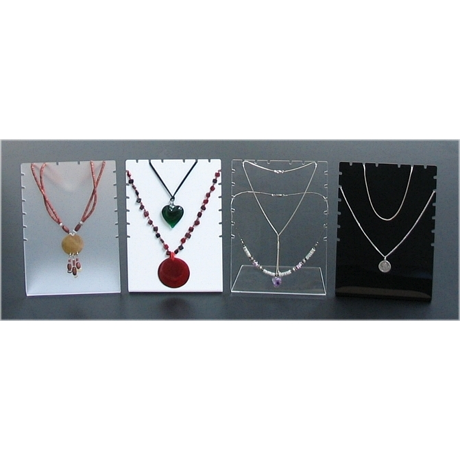 Chain display jewellery stands